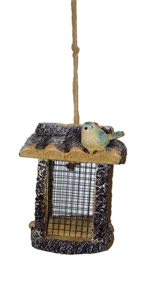 Luxury Bird Feeders luxury hanging wooden bird house feeder peanut seeds nuts food station