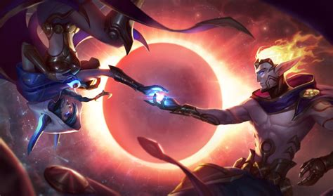 xayah and rakan xayah and rakan release skins cosmic dusk and join