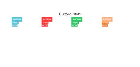 Bootstrap Responsive Color Full Buttons With Hover Effect | bootstrap responsive color full buttons with hover effect