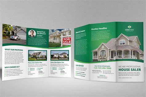 estate brochure template modern real estate brochure template free home design