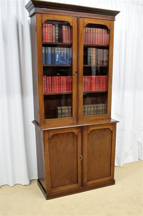 antique bookcases for sale mahogany bookcase cupboard for sale antiques