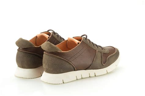 Cowhide Suede by Real Cowhide Leather And Suede Sneakers For Lince