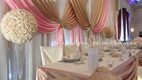 Wedding Backdrop Gta by Toronto Wedding Decorations Custom Backdrop And Table