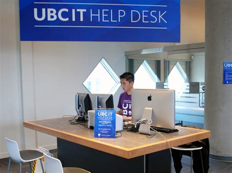 Information Technology Help Desk by Ubc It Help Desk To New Location Ubc Information Technology