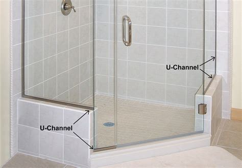Shower Door U Channel U Channel For Your Shower Doors Dulles Glass And Mirror