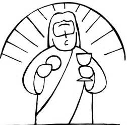 chalice and host coloring pages