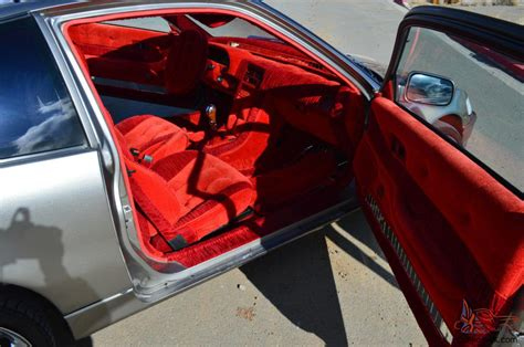 velvet car interior honda crx si 1988 clean car interior velvet