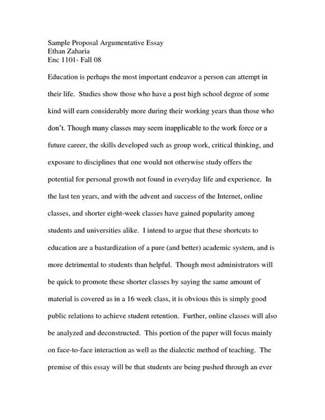 definition argument essay exles perspective essay