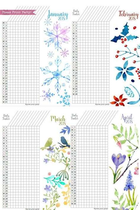 2018 the ultimate planner habit tracker and journal books best 25 journal pages printable ideas on