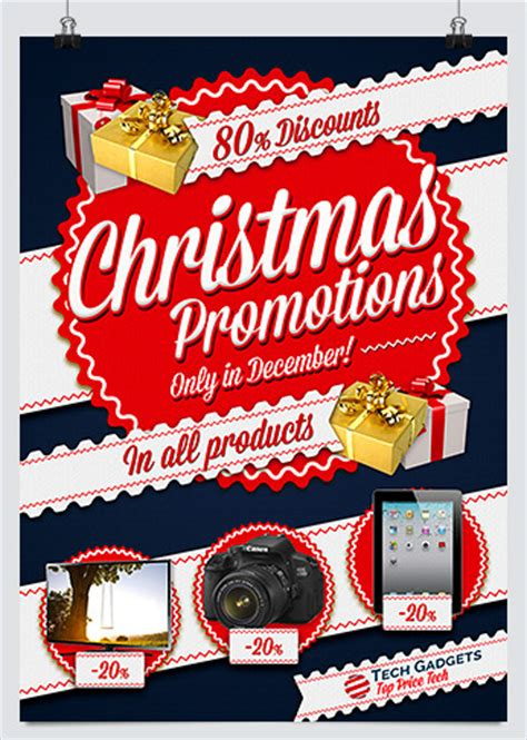 Flyers Giveaways - best christmas promotion flyers for business hollymolly