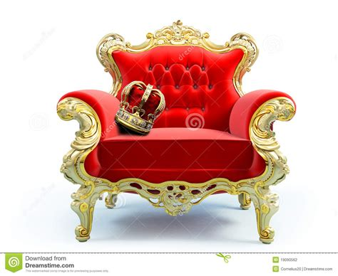 Classic luxury chair stock illustration. Illustration of