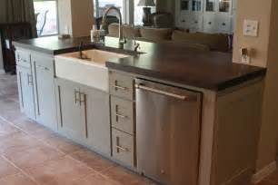 the sink and another bank drawers between dishwasher ovens off countertops building them into your island