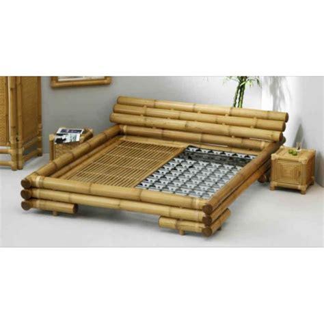 Bed Tables lit en bambou naturel komodo 180x200 mobilierdasie com