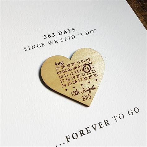 Anniversary Calendar Paper Anniversary Calendar Print By