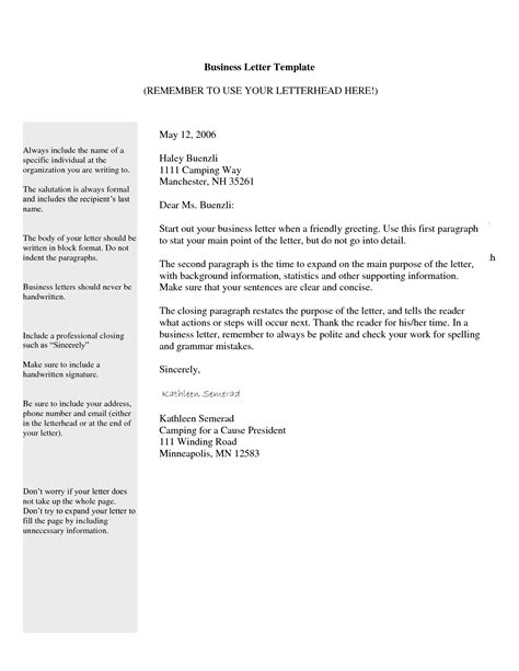 best photos of blank business letter template blank