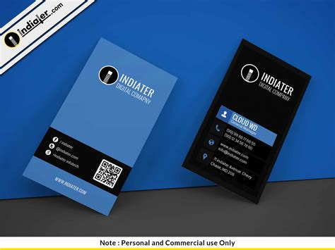 Ps Business Card Template Free by Indiater Free Photoshop Business Card Template Indiater