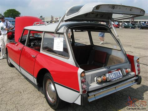 Citroen Wagon by Citroen D Safari Wagon