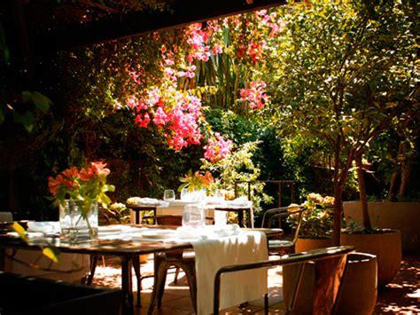 restaurante con jardin barcelona restaurantes con jard 237 n y con platos light un buen plan