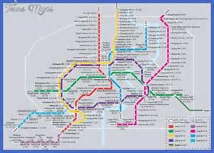 Shanghai metro map map travel holiday vacations