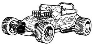 coloring pages of big cars rod cars coloring pages play color