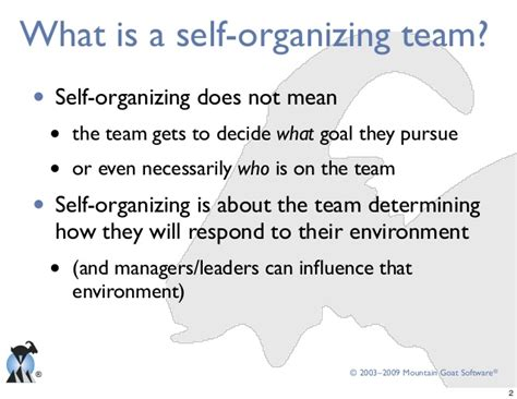 notes to a software team leader growing self organizing teams books self organization subtle friends or enemies