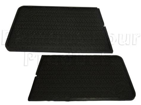 Second Rubber Matting floor mats carpets for land rover 90 110 and defender