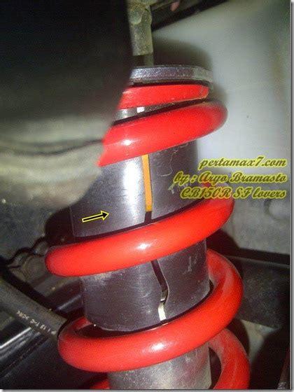 Shock Breaker Sokbreker Shockbreker Mono Shock Motor Honda Vario 335mm cover monoshock honda cb150r lecet bahkan pecah pertamax7