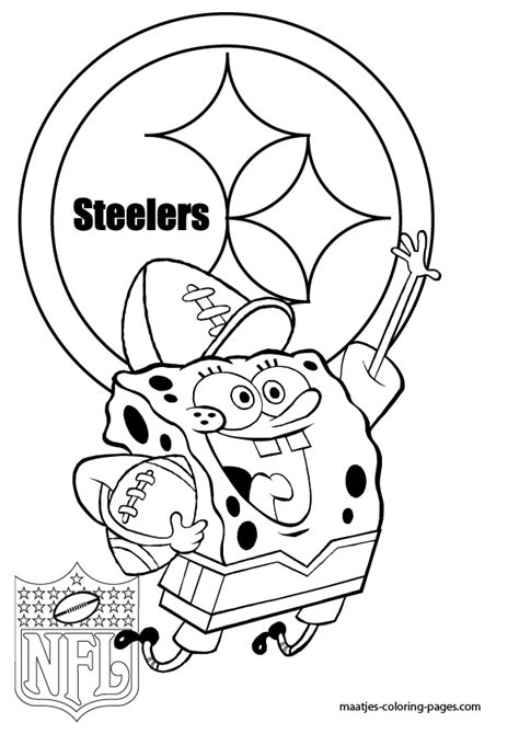 steelers coloring pages pittsburgh steelers coloring pages coloring home