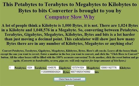 converter kb to gb computer so slow convert bits to bytes to kilobytes to