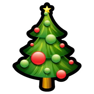 christmas tree icon free download as png and ico formats
