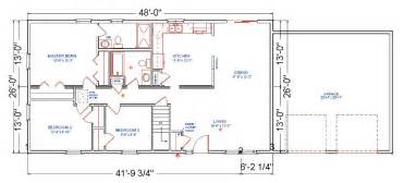 Home Addition Floor Plans by Birchwood Modular Ranch House Plans