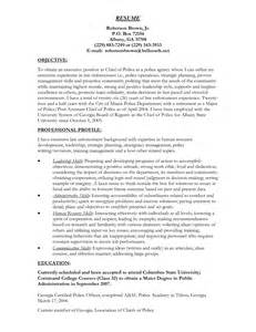 Sample Resume Objectives For Promotion by Model Resumes