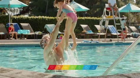 centrum commercial actress centrum silver tv commercial at the swimming pool