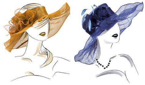 fashion illustration hats hat fashion illustration on behance