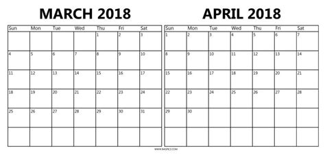 printable calendar april 2018 to march 2019 calendar march april 2018 mathmarkstrainones com