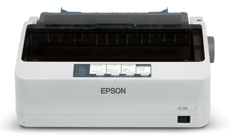 Printer Epson Lq 310 printer scanner epson lq 310 dot matrix printer white