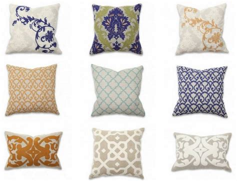 pillow designs artistic pillows the primary spice for lovely front room