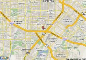 map of costa mesa california map of marriott suites costa mesa costa mesa