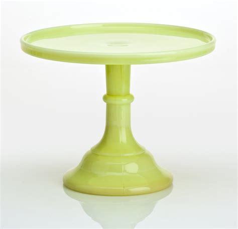 Pedestal Plate mosser glass 12 quot pedestal cake plate butter yellow