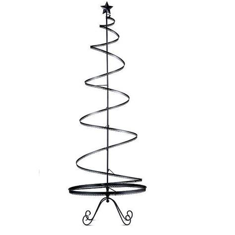 metal christmas tree ornament holders metal ornament display tree indoor decor gold or black 2 sizes ebay