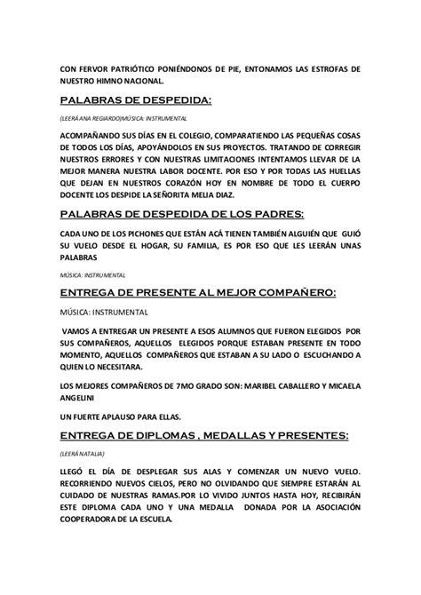 discurso para despedir egresados guadalajara escuela 6398 acto egresados 7 186 grado 2013 se 241 os julieta