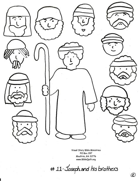 free bible coloring pages joseph and his brothers bible joseph and his brothers free coloring pages on