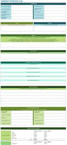non profit strategic plan template 9 free strategic planning templates smartsheet