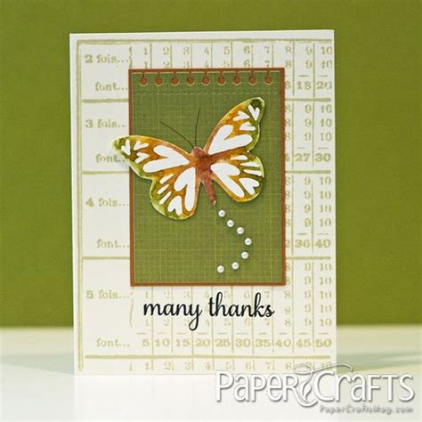 Paper Crafts Magazine - 219 best images about thank you cards on