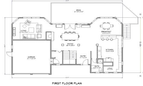 beach house open floor plans beach house open floor plan beach house floor plan house