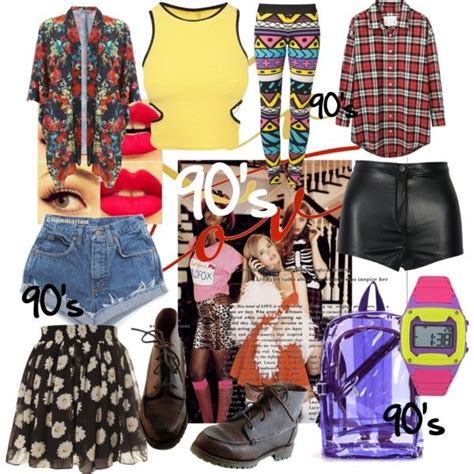 themes of clothing quot 90 s theme party quot by tossermag on polyvore back to the