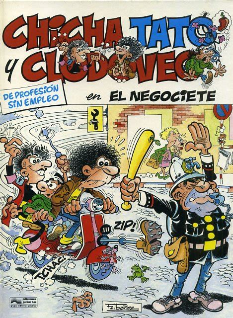 libro chicha tato y clodoveo chicha tato y clodoveo 1986 junior 3 ficha de n 250 mero en tebeosfera