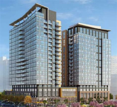 Apartment Complex Business Plan Apartments Could Replace Vacant Pentagon City Office