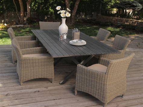 Resin wicker outdoor furniture set, outdoor patio