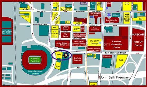 carolina panthers seating capacity bank of america stadium nc seating chart view